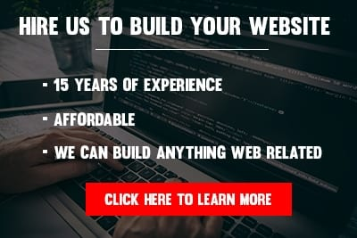 hire pro to build your website