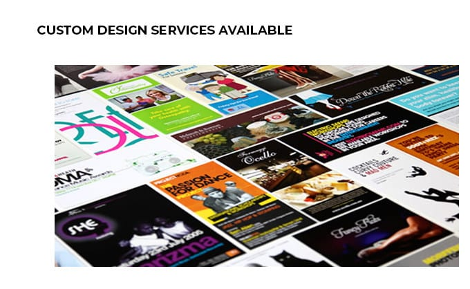 design services available